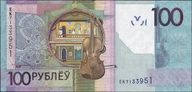 Weißrussland / Belarus P.neu 100 Rubel 2009 (2016) (1)