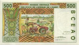 West-Afr.Staaten/West African States P.610Hd 500 Francs 1994 Niger (1)