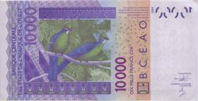 West-Afr.Staaten/West African States P.318Cl 10000 Francs 2013 (1-)
