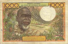 West-Afr.Staaten/West African States P.703Kn 500 Francs o.D. (3-)