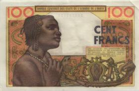 West-Afr.Staaten/West African States P.201Ba 100 Francs 1961 (2/1)