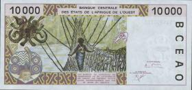 West-Afr.Staaten/West African States P.814Tj 10000 Francs 2001 (1)