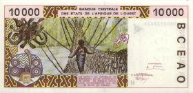 West-Afr.Staaten/West African States P.613Hb 10000 Francs 1994 (1)