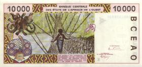 West-Afr.Staaten/West African States P.714Kb 10000 Francs 1994 (1)