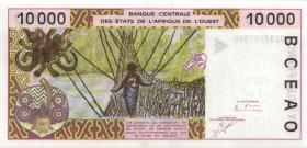 West-Afr.Staaten/West African States P.714Kj 10000 Francs 2001 (1)