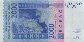 West-Afr.Staaten/West African States P.817Tk 10.000 Francs 2013 Togo (1)