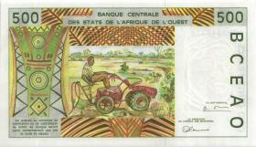 West-Afr.Staaten/West African States P.910Sa 500 Francs 1997 Guinea Bissau (1)