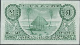 West Samoa P.16b 1 Tala (1967) (1)