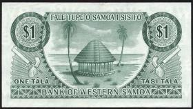West Samoa P.13 10 Shillings (1963) (1/1-)
