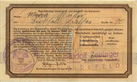 WHW-02 Winterhilfswerk 1 Reichsmark 1939/40 (1-)