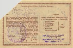 WHW-26 Winterhilfswerk 50 Reichspfennige 1940/42 (1) entwertet