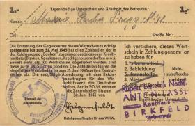 WHW-37 Winterhilfswerk 1 Reichsmark 1942/43 (2)