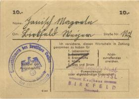 WHW-42 Winterhilfswerk 10 Reichsmark 1943/44 (1-)