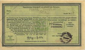 WHW-12 Winterhilfswerk 50 Pfennige 1939/40 Reihe II (1-)
