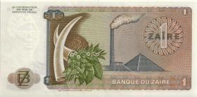 Zaire P.18a 1 Zaire 27.10.1975 (1)