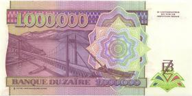 Zaire P.45a 1.000.000 Zaires 15.3.1993 (1)