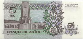 Zaire P.48a 5 Nouveau Makuta 1993 (1)
