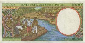 Zentral-Afrikanische-Staaten / Central African States P.602Pc 1000 Francs 1995 (3+)