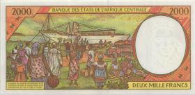 Zentral-Afrikanische-Staaten / Central African States P.602Pg 1000 Fr. 2000 (1)