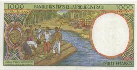 Zentral-Afrikanische-Staaten / Central African States P.302Fe 1000 Fr. 1998 (1)