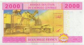 Zentral-Afrikanische-Staaten / Central African States P.208Ua 2000 Fr. 2002 (1)