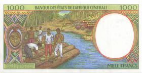 Zentral-Afrikanische-Staaten / Central African States P.502Nc 1000 Fr. 1995 (1)