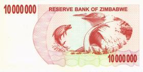Zimbabwe P.55b 10.000.000 Dollars 2008 Inhaberscheck (1)