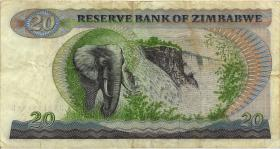 Zimbabwe P.04b 20 Dollars 1982 (3)