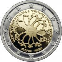Zypern 2 Euro 2020 30 Jahre Institut für Neurologie und Genetik PP