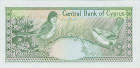 Zypern / Cyprus P.51 10 Pounds 1987 (1)