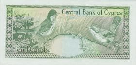 Zypern / Cyprus P.55a 10 Pounds 1990 (1)