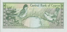 Zypern / Cyprus P.55c 10 Pounds 1994 (1)