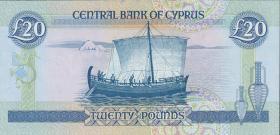 Zypern / Cyprus P.56b 20 Pounds 1993 (1)