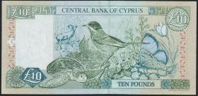 Zypern / Cyprus P.62b 10 Pounds 1998 (1-)