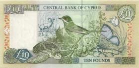 Zypern / Cyprus P.62d 10 Pounds 2003 (1)