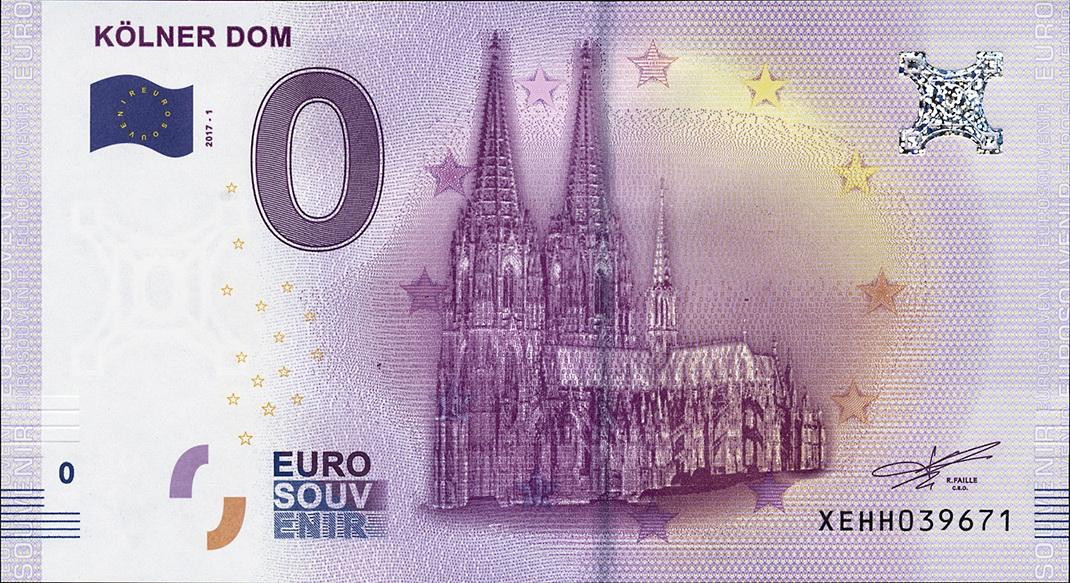 0 euro schein köln
