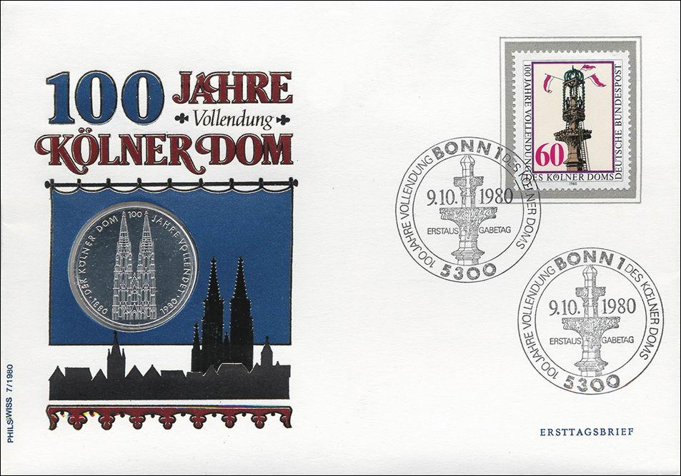 B 0026 Kölner Dom 100 Jahre Vollendung