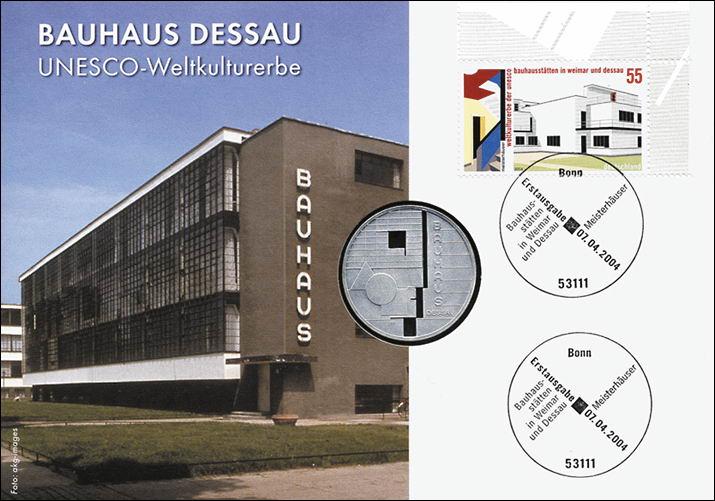 B 1550 Bauhaus Dessau Pp Ausgabe