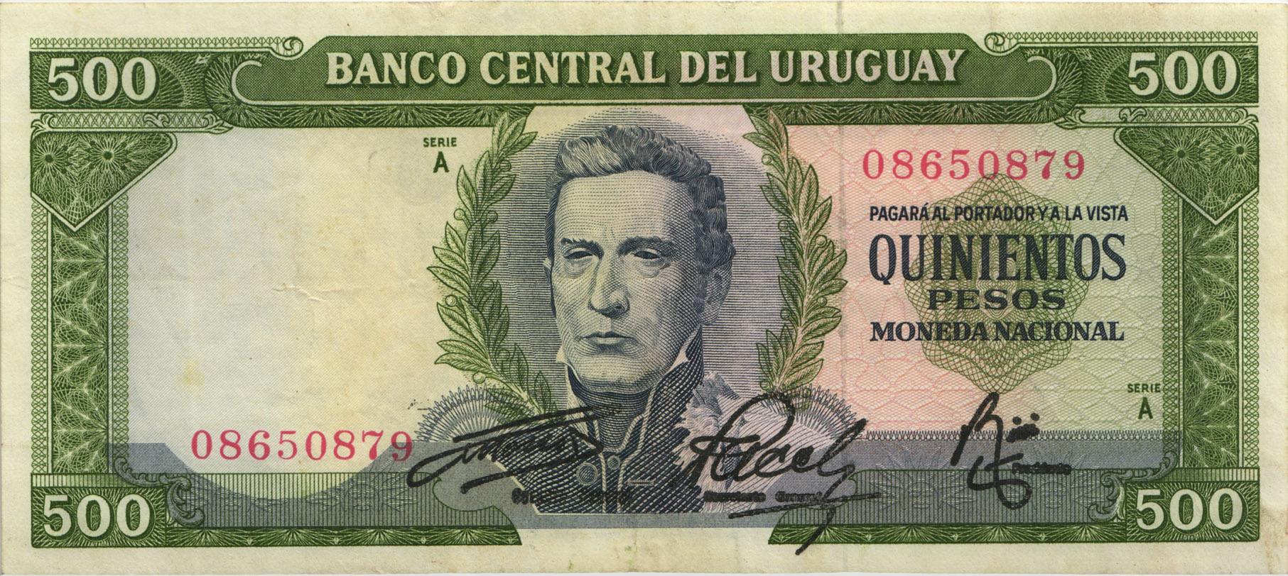 Uruguay 200 Pesos Uruguayos 2000 - Uruguayan Currency Bank