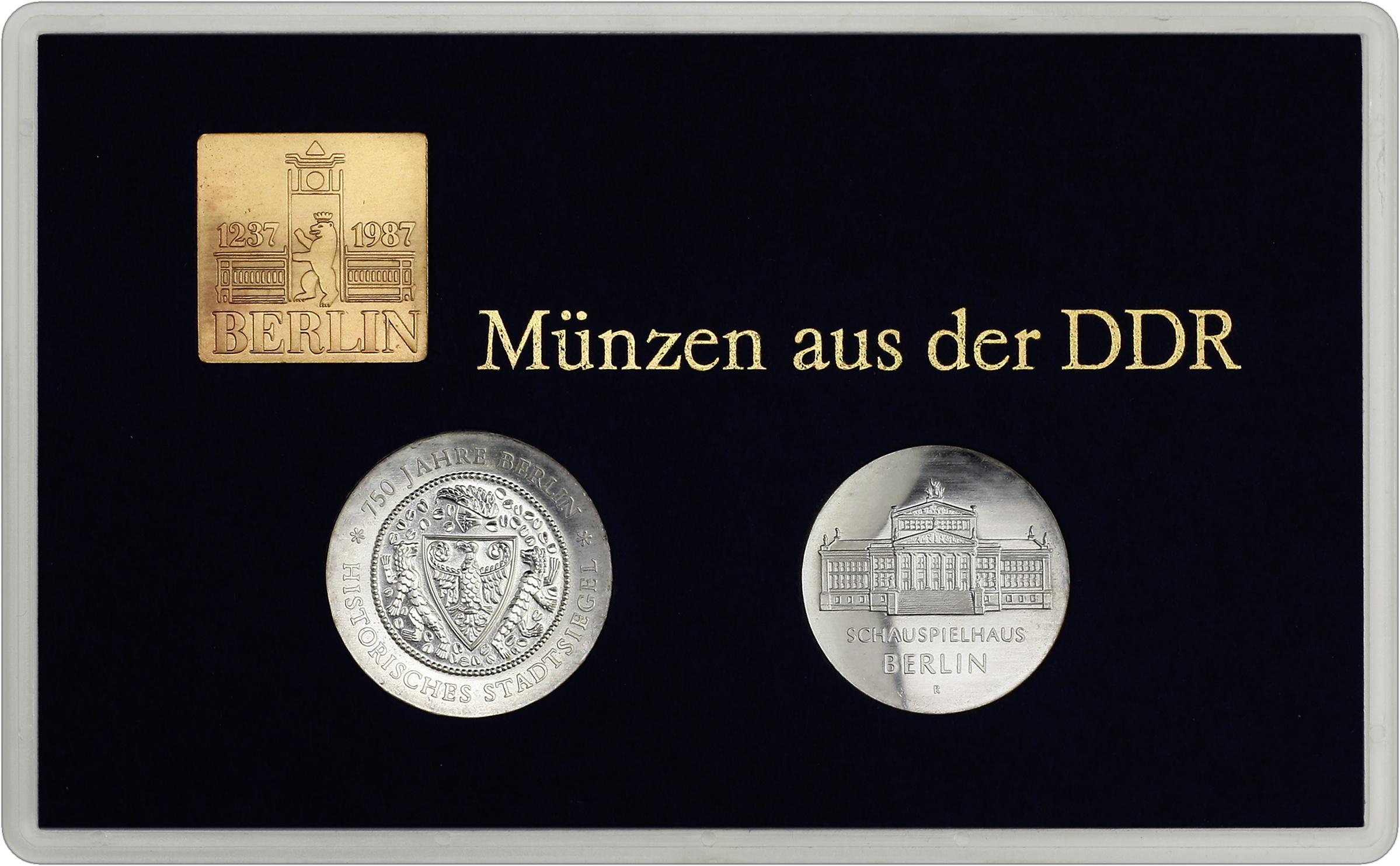 Ddr Münzsatz 750 Jahre Berlin