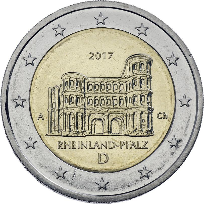 2 Euro Rheinland Pfalz