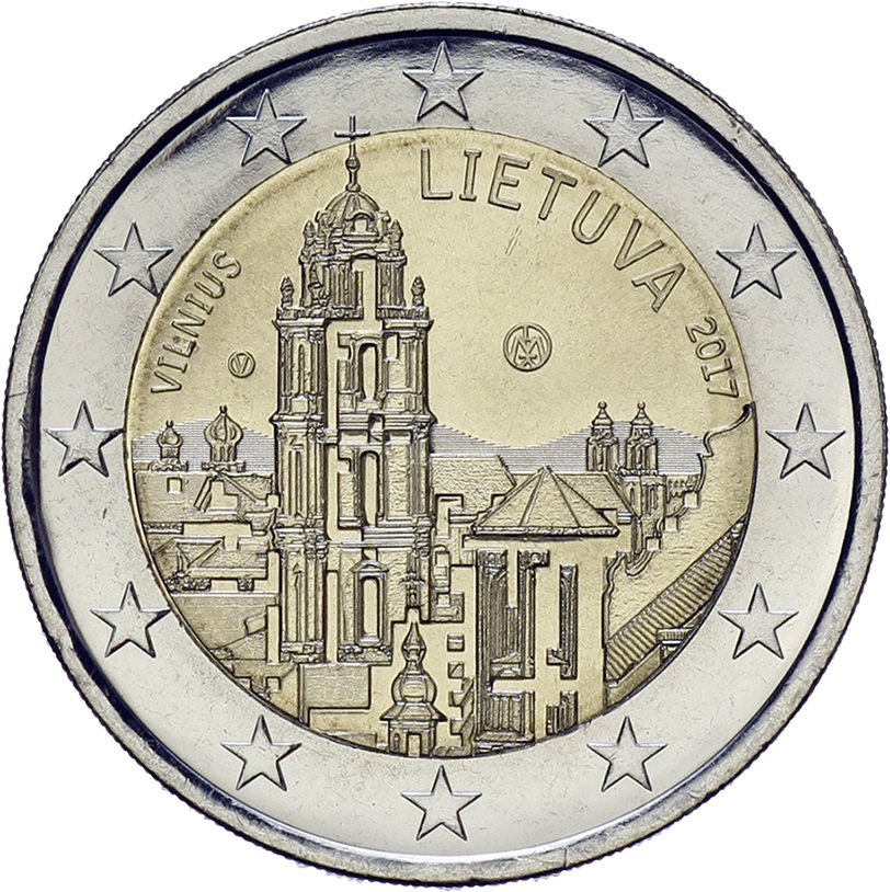 Litauen 2 Euro 2017 Vilnius