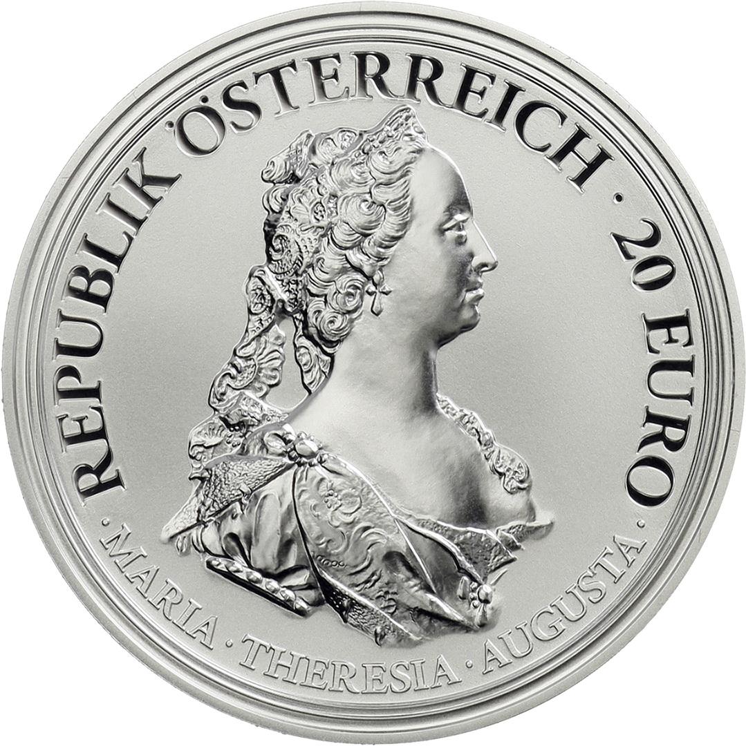 österreich 20 Euro 2017 Maria Theresia Tapferkeit Und