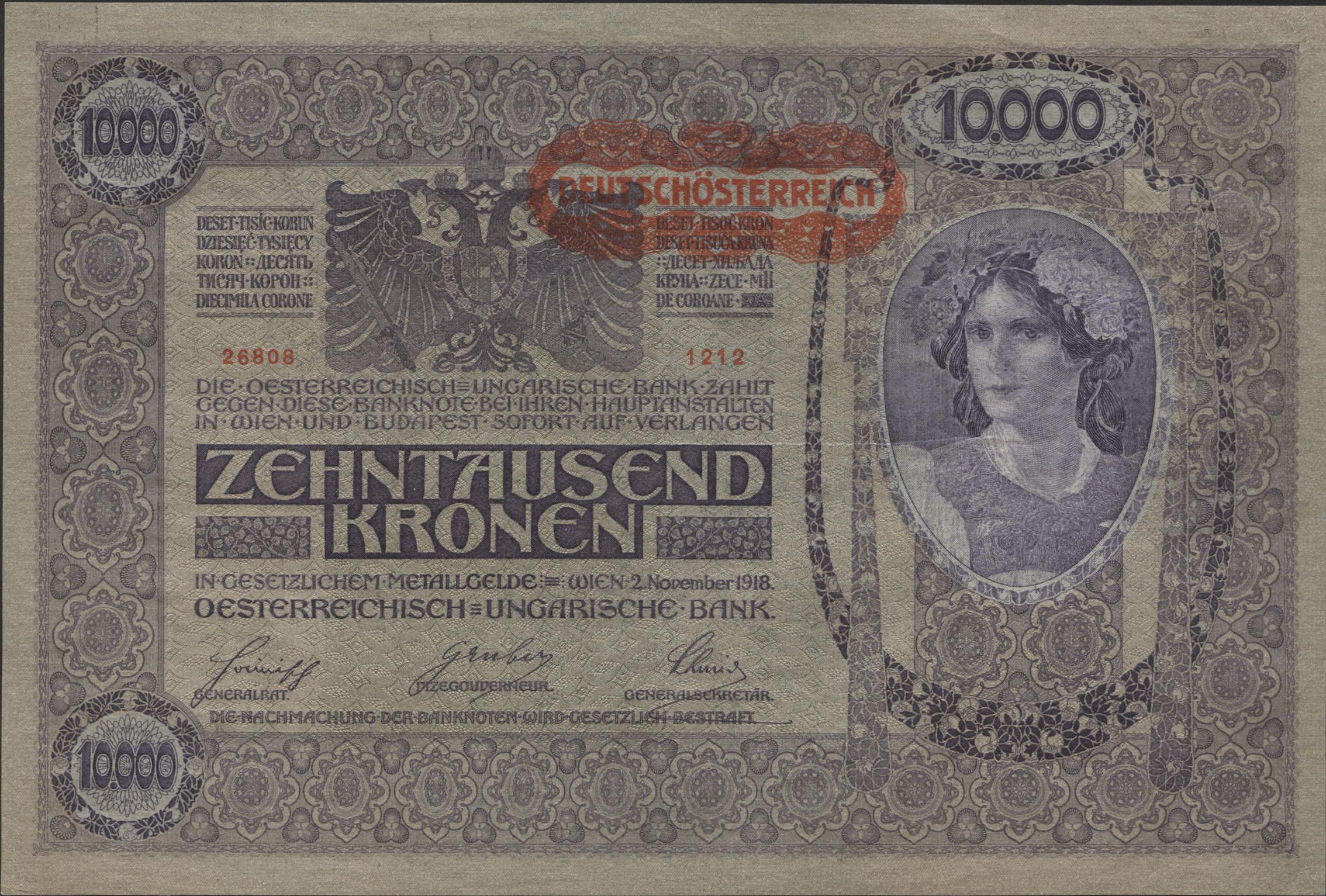10000 Kronen In Euro