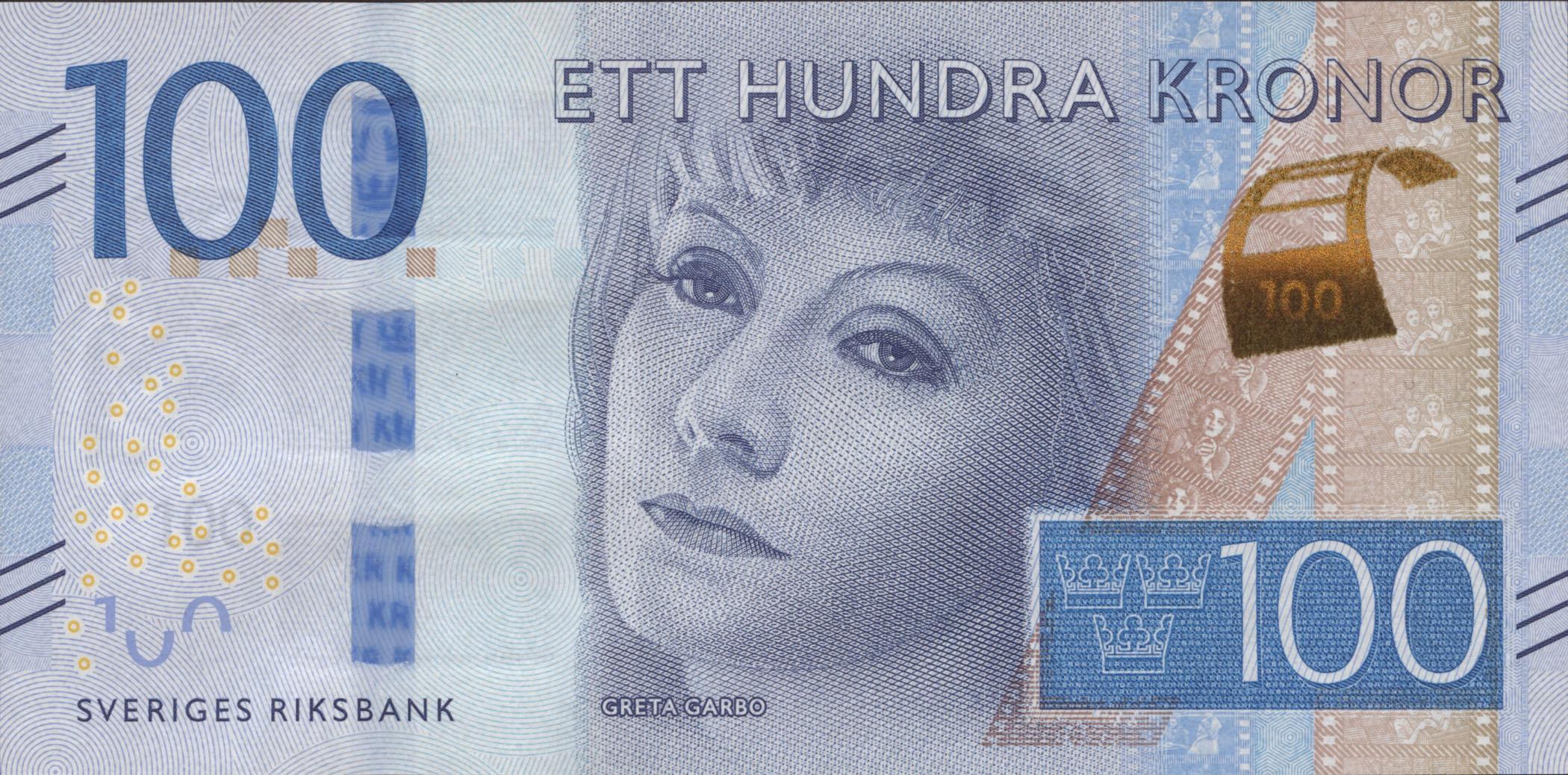 Schweden Sweden P 71 100 Kronen 2016 1