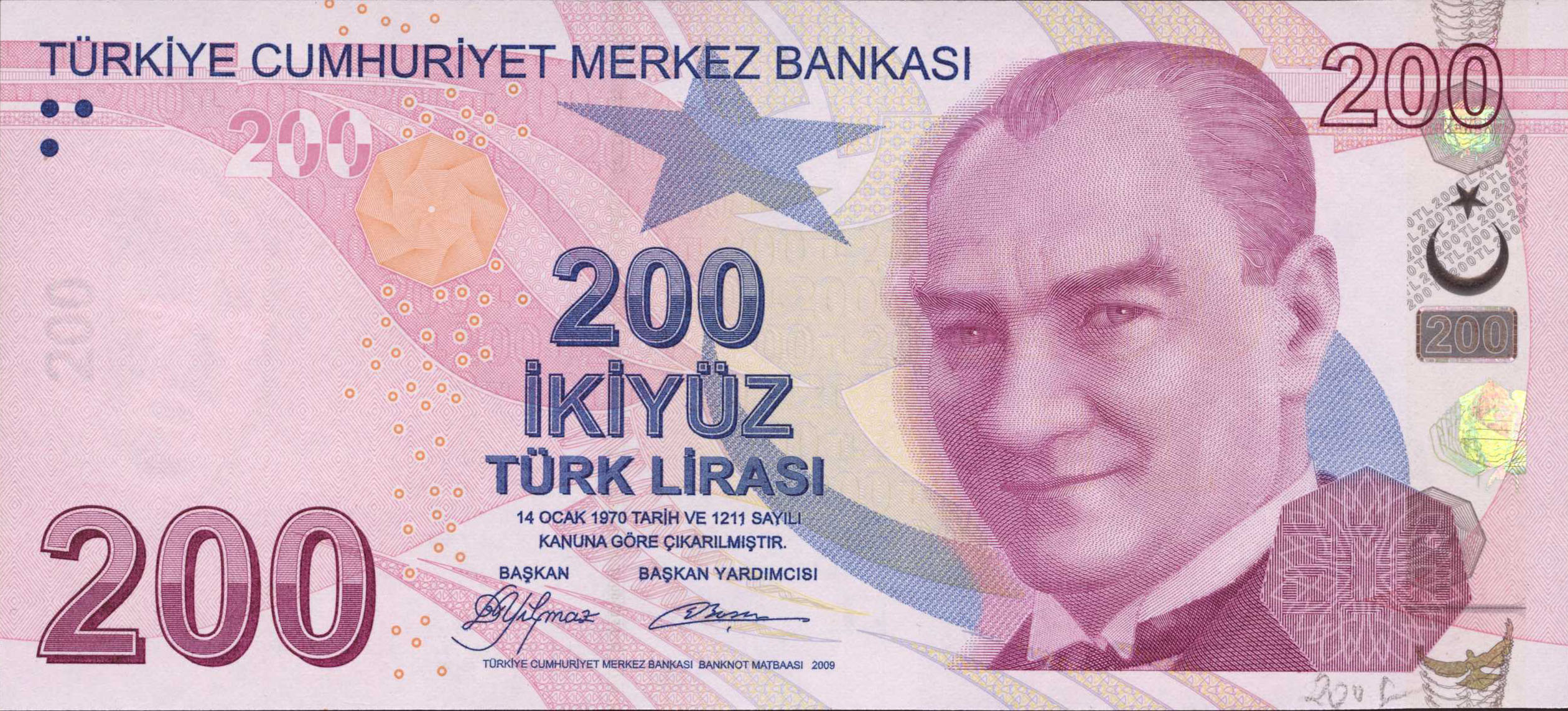 200 türkische lira in euro