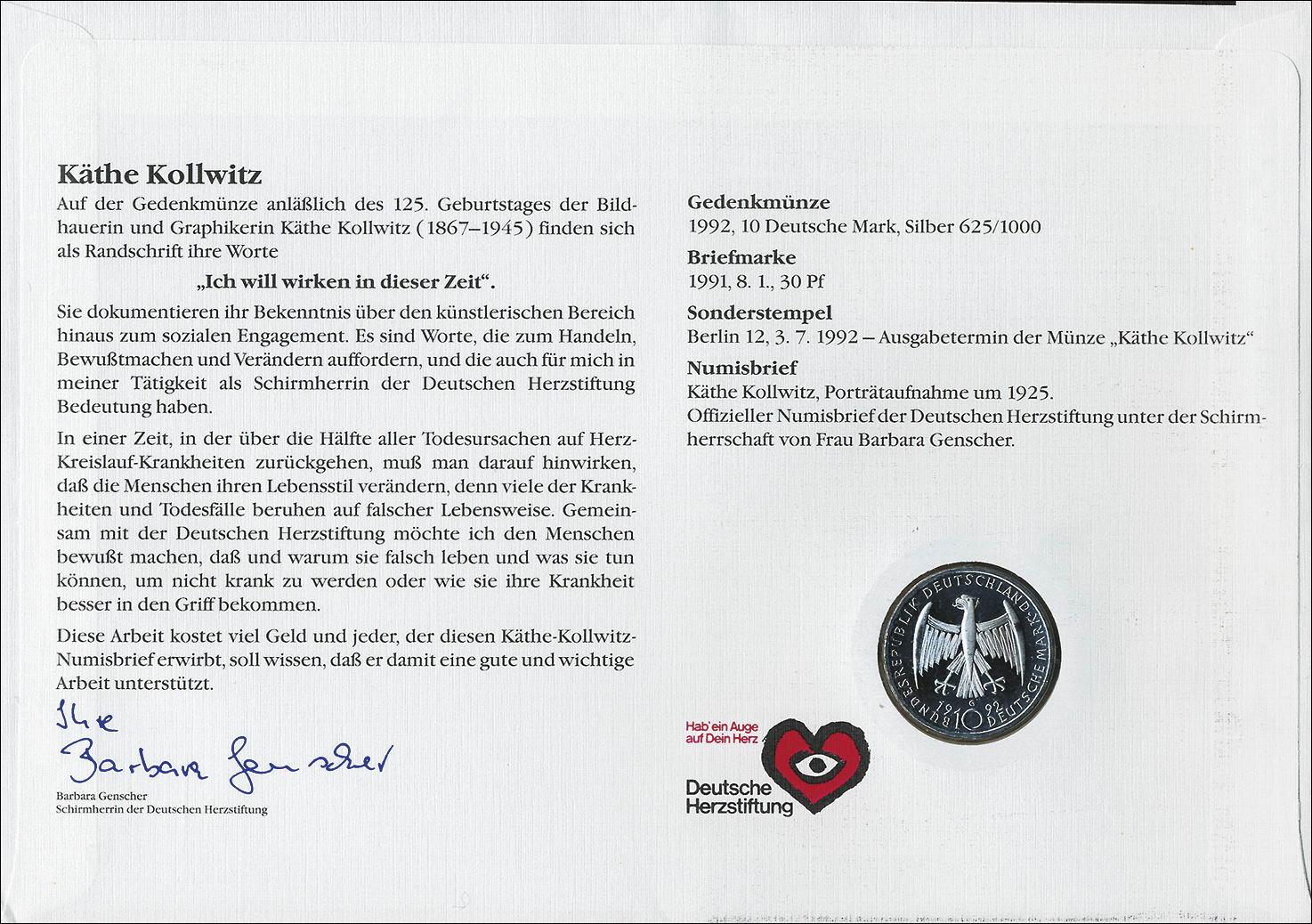B 0528 Käthe Kollwitz