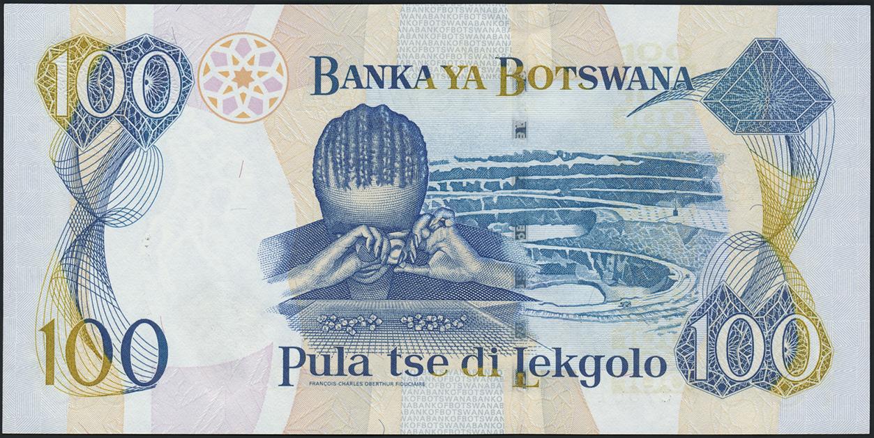 Botswana P 23 100 Pula (2000) (1)